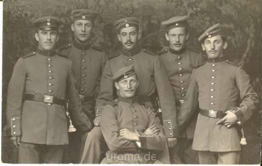 6 soldaten