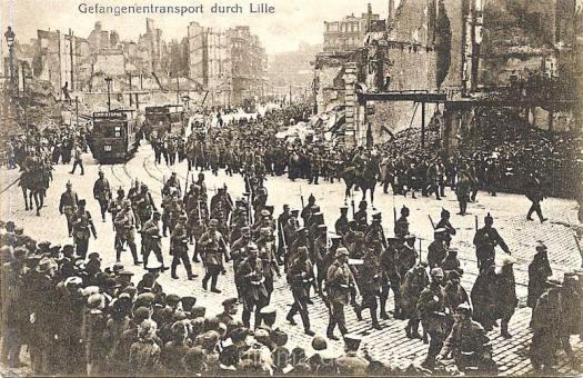Gefangenentransport Lille