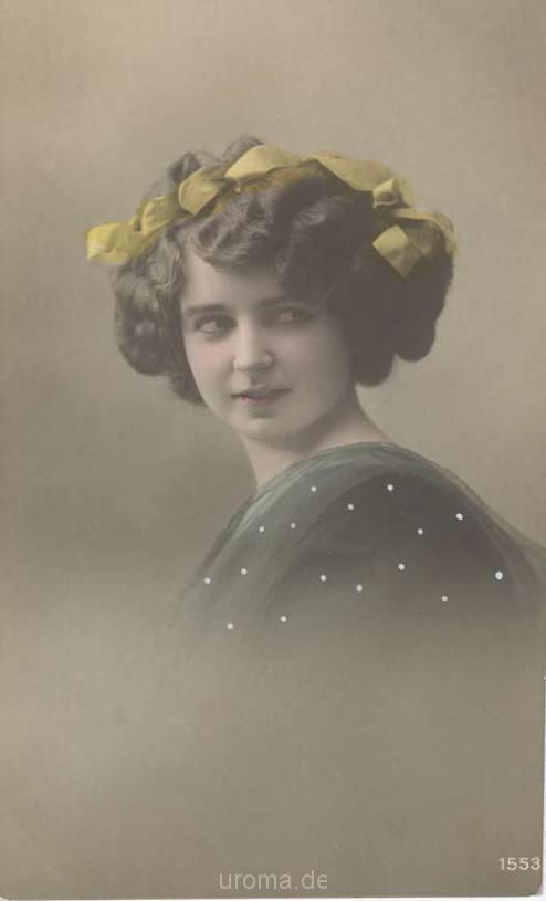 Postkarte Madam