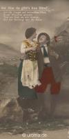Liebespaare auf Ansichtkarten & Privatfotos