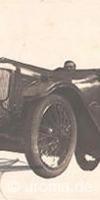 Oldtimer, alte Automobile auf Ansichtskarten
