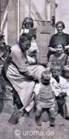 Personengruppen & Familien auf Postkarte